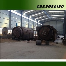 Best price for waste tire oil pyrolysis plant with CE ISO