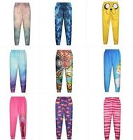 Wholesale Custom Digital Print Jogger Pants for Women