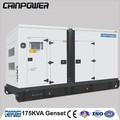 Kva 175 insonorisantes 1500 alternateurs rpm générateur de fréquence pour l'hôpital de construction