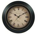 estilo antiguo 12 pulgadas ce rohs y de promoción de gran tamaño de metal reloj de pared claro marque el diseño