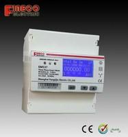 EM537 modbus data record energy meter modbus smart energy meter switching power source energy meter