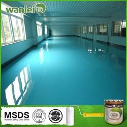 High light, high hardness, washable anti corrosion paint