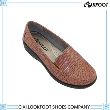 Comfort patent pu all year around lady hot sale casual shoes