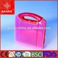 Transparente pequeno barato caixa de primeiros socorros GK100 para carro