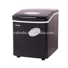 Black mini portable home best ice maker machine heavy duty