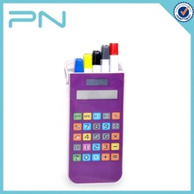 Plastic Office Stationery Items Names with Pen and Calculator