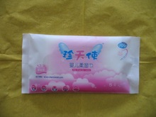 OEM welcomed single wet wipes for baby cleaning