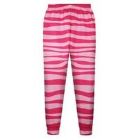 Wholesale Custom Women Fashion Red White Striped Digital Print Yoga Casual Pants Slimming Trousers