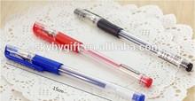 PP097 Red Blue Black Promotional Cheap Gel Pen