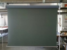 manual control roller blind make in China blackout or daylight roller blind