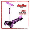 3 tekerlekli mini scooter gidon