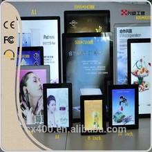 Xingsu EF all kinds of light box,menu board,3d wall panel,advertising frame