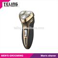 2014 nuevo diseño de los hombres afeitadora eléctrica con luz led