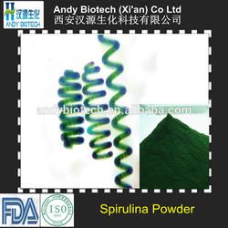GMP Certified Low Price Dark Green Spirulina Fine Powder