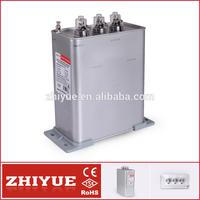 ZHIYUE 0.4-20-3 3 phase power saver capacitor