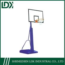Nice design adjustable outdoor basketball stand
