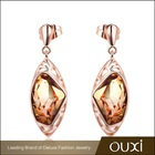 2015 cheap gold plated earring made with Swarovski Elements 20445