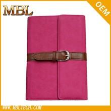 briefcase like pu leather case cover simple design for ipad mini