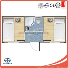 New designed luxury living container house with two badroom