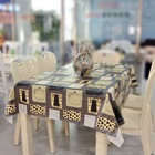 Jacquard Style and Round Shape Fancy Wedding Table Cloths