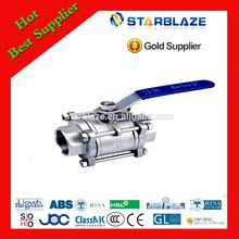 China manufacturer large ball valve