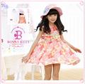 Vestido de aniversário para crianças/crianças vestido modelos