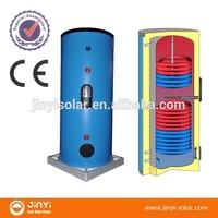 CE EN12976 200l Solar Water Heater Tank, Split Pressurized Solar Boiler with Copper/Stainless Steel coil