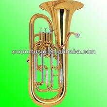 High-Grade Euphonium 4 Pistons/Professional Model Euphonium With Gold Brass Leadpipe, Cupronickel Tuning Pipe