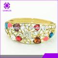 piedra de colores pulseras de la joyería al por mayor de monet