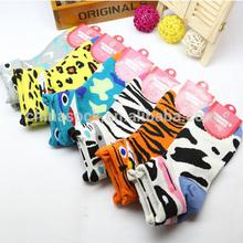 Cute animal socks cotton socks in stock