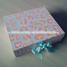 quick lead time attractive foldable box ,cloth box , custom made paper cigarette box printing