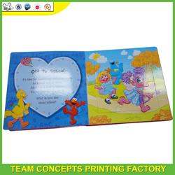 children's puzzle book printing