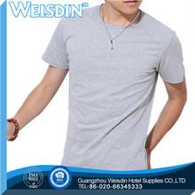 tie dyed Guangzhou silk/cotton custom men organic t shirt