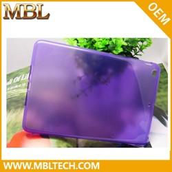 Luxury colorful polishing tpu cell phone case for ipad mini
