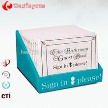 Alimentos de papelão display de balcão, personalizado impresso caixas de exposição pdq, papel superior do display contador