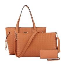 BV232 Brand handbags 2015 new export three-piece bag women handbags aliaba