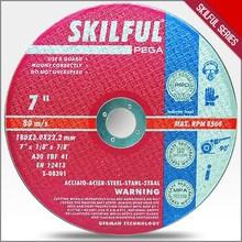 7'' 180x3x22.2mm Pro Metal Steel Cutting Cutoff Wheel