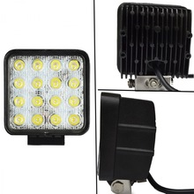 "4"" LED Driving Light 48W 12v Automobile 48W LED Work Light, 4"" Motorcycle Head Light"