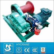 industry crane, hydroelectric station, railway application high speed electric winch