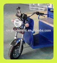 Prominent three wheel cargo passenger motorcycle
