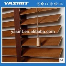 Creative style wood effect venetian blinds conversion van window shades