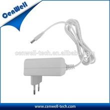 Hot Sale!! 18v 1a ac power adapter with US/EU/AU/UK Plug