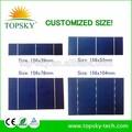 تخصيص size156x104mm 0.5v 2.79w مكونات الخلية الشمسية