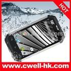 4 Inch Corning Gorilla Touch Screen Android 4.4 MTK6582M Quad Core CAT B15Q Aluminium Body IP67 Rugged Waterproof Cell Phone