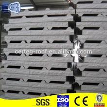 High quality colored aluzinc steel eps roof panel / panel corner / ridge cap