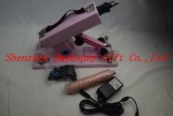 2015 New Powerful Women Use Automatic Pink Sex Machine Gun Cannon Masturbation Machine For Female Machine Gun,