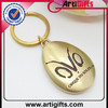 Wholesale new design high quality customized double sided key chains