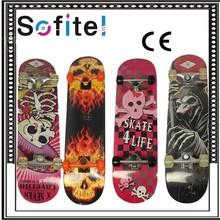 Vairous pattern, Logo Optional, Longboard Skateboard For Sale Pass CE Test