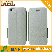 Silk Pattern Stand Case Cover for Apple iPhone 5 5s,Flip magent stand silk pattern leather case for iphone 5