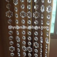 new design decorative door window chandelier clear acrylic beaded strands